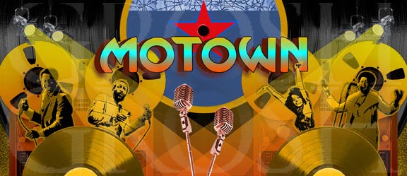 Motown Backdrop Projection - Dance