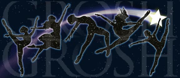 Dancing with the Stars Ballet Backdrop Projection - Dance