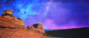 Aladdin Night Desert Landscape