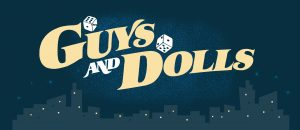 Guys and Dolls Show Curtain