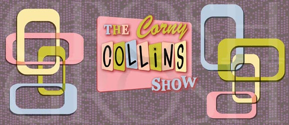 Hairspray Corny Collins Show Backdrop Projection