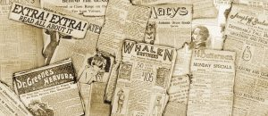 Newsies Newspaper Montage