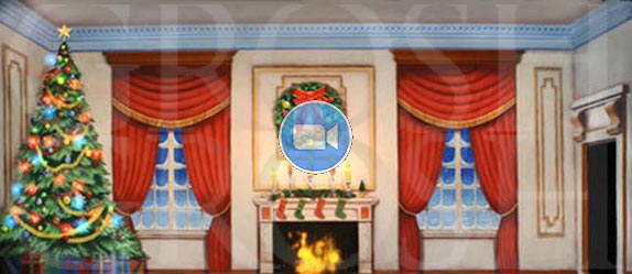 Nutcracker Animated Backdrop Projections