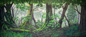 Peter Pan Lush Forest