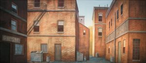 West Side Story back alley