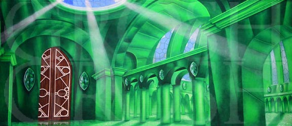 Wizard of Oz Emerald City Interior