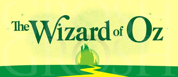 Wizard of Oz Title 2 Backdrop Projection